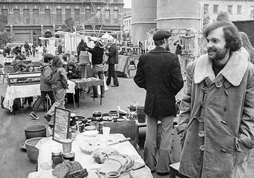 Then & Now: Portland Saturday Market