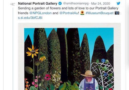Good News: Museums Send Virtual Flowers