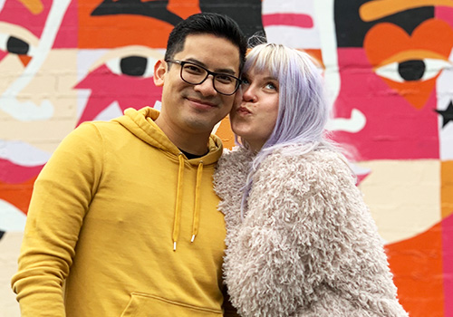 Happy Hour with Justin Huertas & Kirsten DeLohr Helland – Presented by Moonstruck Chocolate Co. & Freeland Spirits